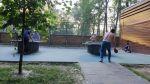 Настольный теннис Бекет около больницы Алексеева (Кащенко)